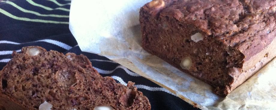 Spelt, Banana and Walnut Bread (dairy-free, veganoption)